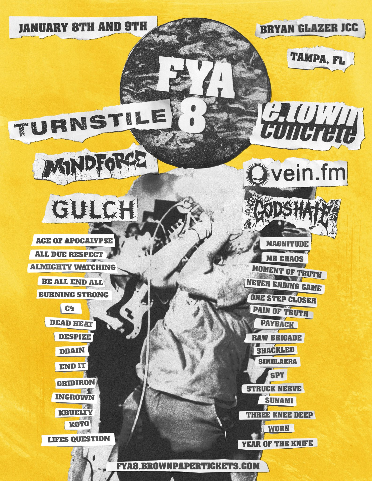 image for Episode 50. FYA Fest 8 Announcement with Bob Wilson.