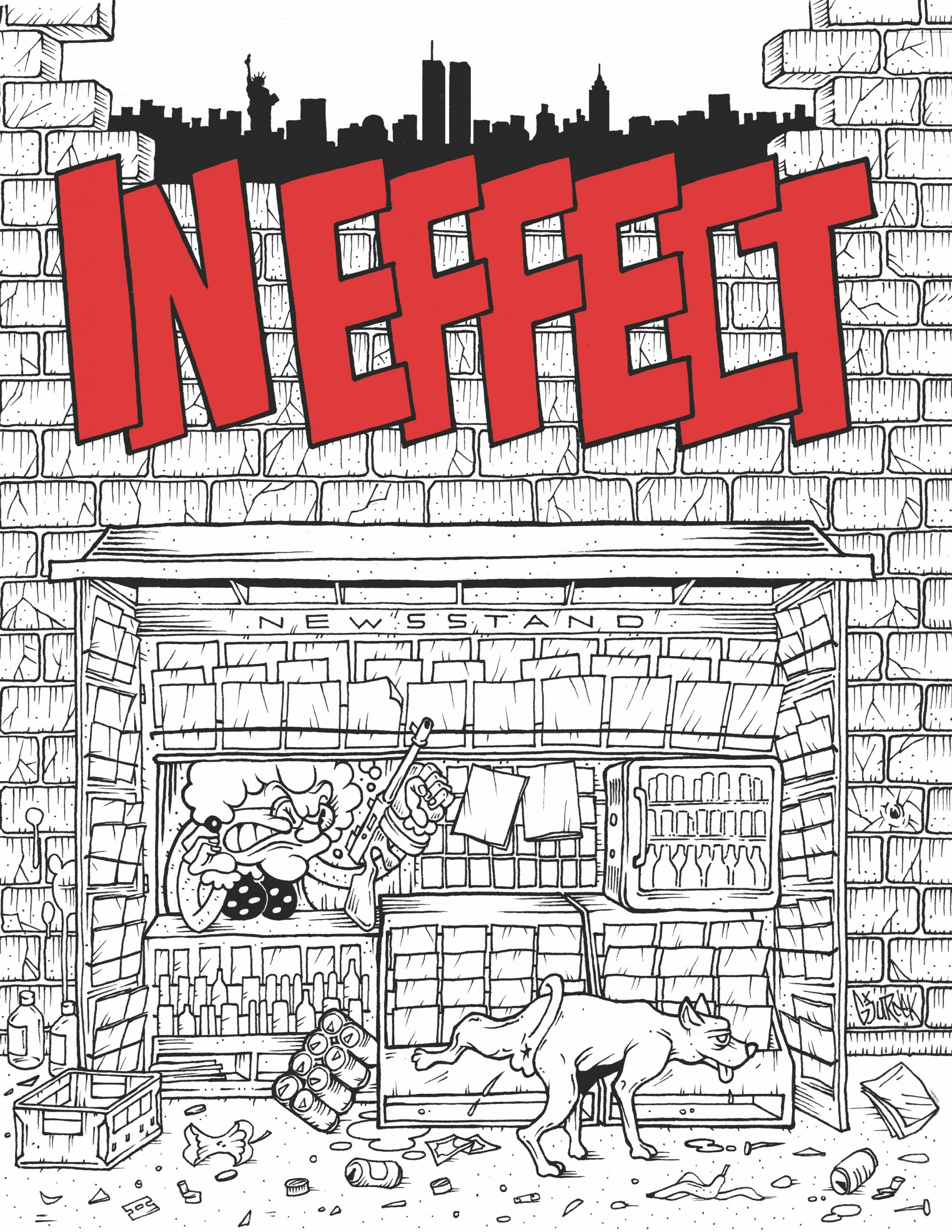 image for Episode 44 Chris Wynne. From Photocopies to Hardcover Book, the Story of In Effect Zine.